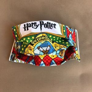 Harry Potter Cotton Face Mask with Pocket